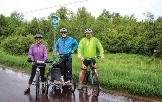 3 Bicyclists