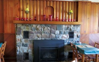 Brownstone Inn Fireplace