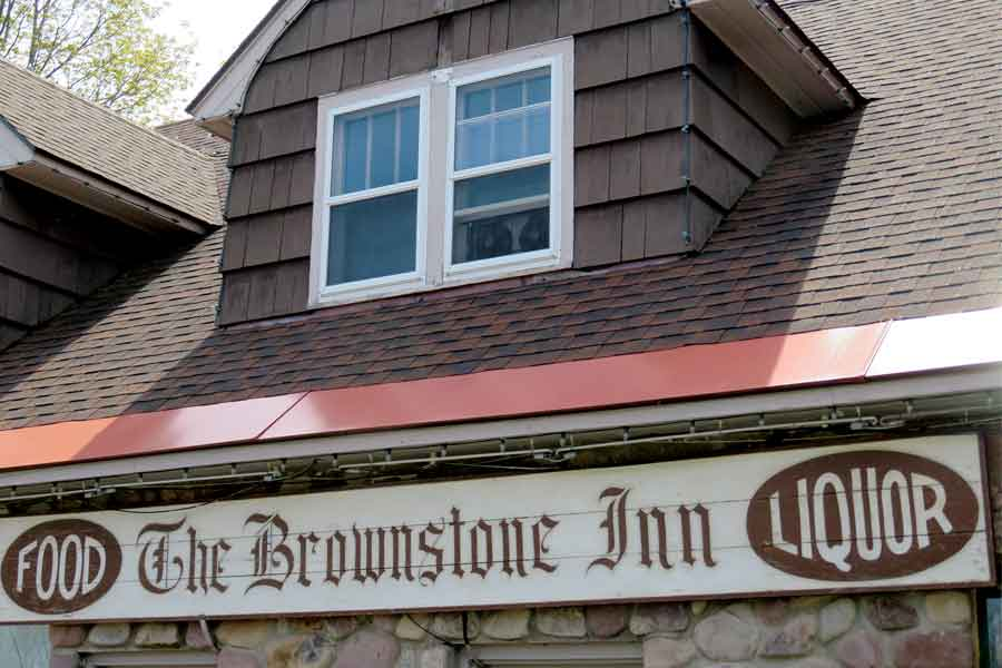 The Brownstone Inn Storefront